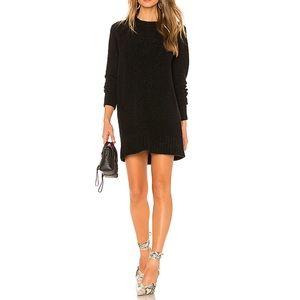 Lovers + Friends Black Sweater Dress
